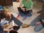 Dogs love craniosacral work!